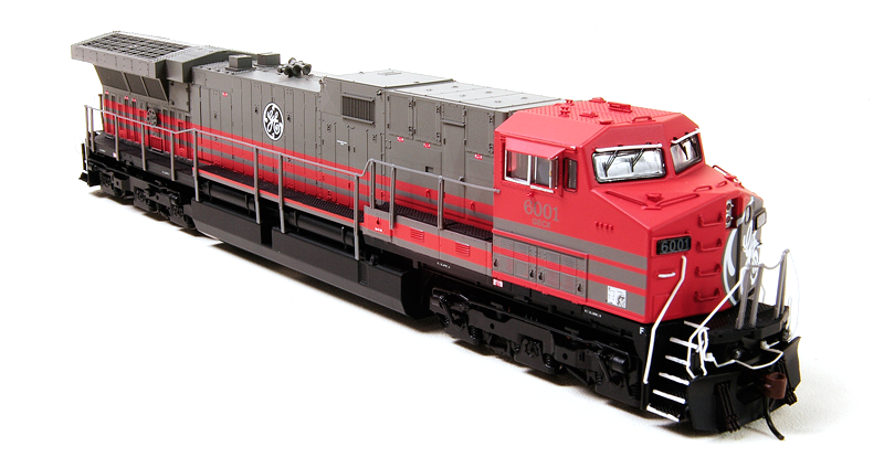 N Scale - Broadway Limited - 3429 - Locomotive, Diesel, GE AC6000CW - General Electric Transportation - 6001
