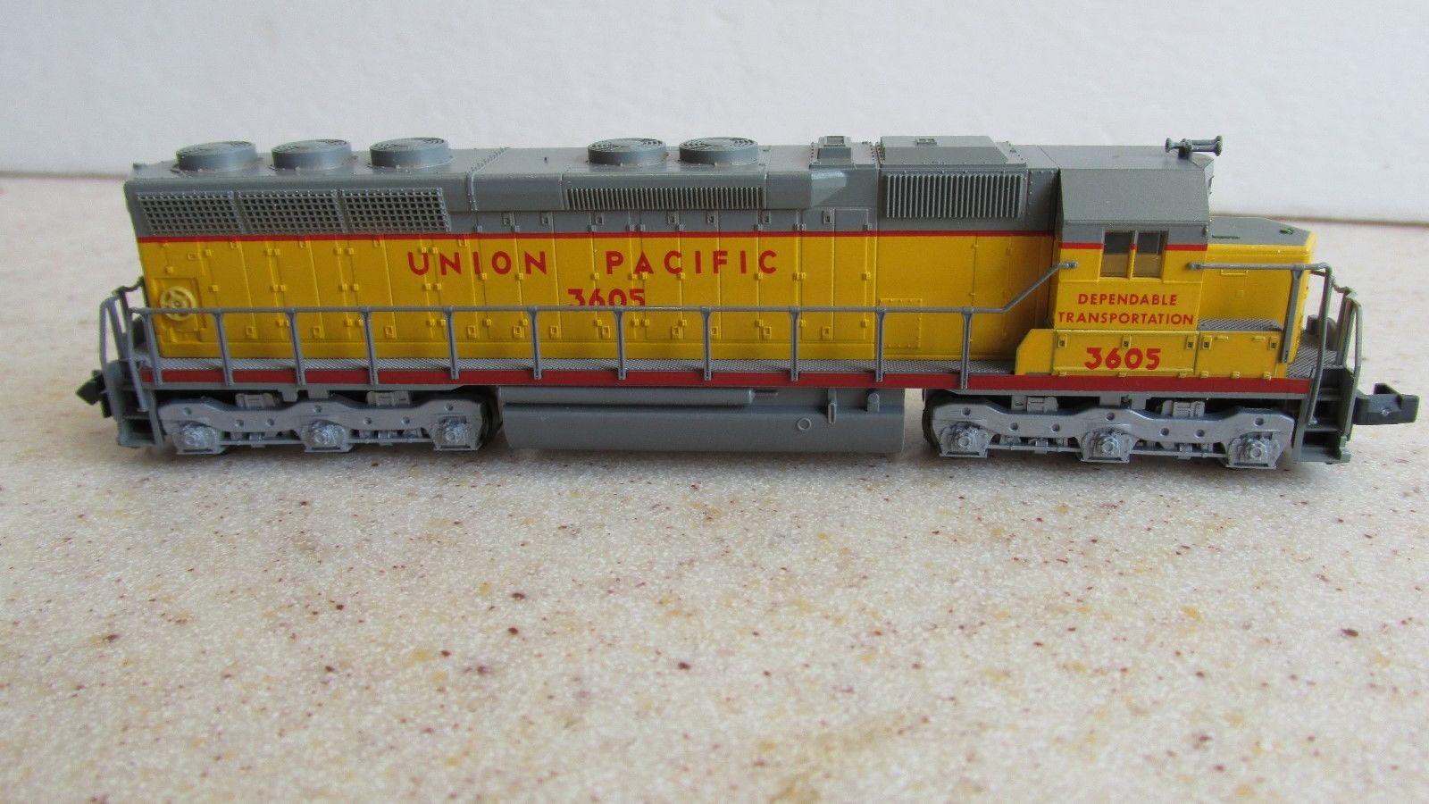 N Scale - Kato USA - 176-31B - Locomotive, Diesel, EMD SD45 - Union Pacific - 3605