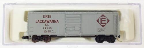 N Scale - Atlas - 34021 - Boxcar, 40 Foot, PS-1 - Erie Lackawanna - 74218