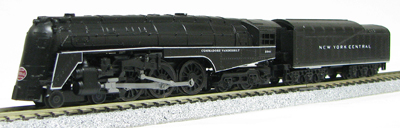 N Scale - Con-Cor - 0001-003083 - Locomotive, Steam, 4-6-4 Hudson - New York Central - 5344