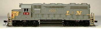 N Scale - Atlas - 49418 - Locomotive, Diesel, EMD SD35 - Louisville & Nashville - 1201