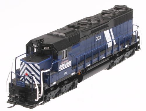 N Scale - Atlas - 49449 - Locomotive, Diesel, EMD SD35 - Montana Rail Link - 703