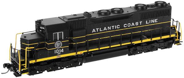 N Scale - Atlas - 40 000 157 - Locomotive, Diesel, EMD SD35 - Atlantic Coast Line - 1001