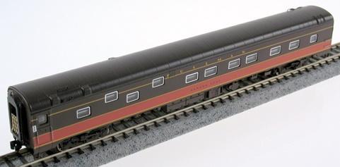 "N Scale - Rapido Trains - 501104 - Passenger Car, Lightweight, Pullman, Duplex Sleeper Plan 4124 - Illinois Central - ""Magnolia State"""