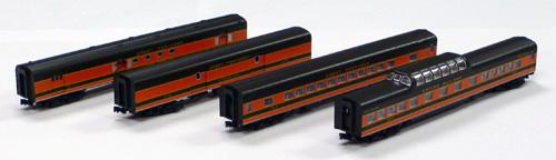 N Scale - Kato USA - 106-1052-B - Passenger Car, Lightweight, ACF - Great Northern - 279