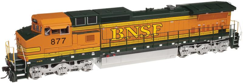 N Scale - Atlas - 40 002 690 - Locomotive, Diesel, GE Dash 8 - Burlington Northern Santa Fe - 916