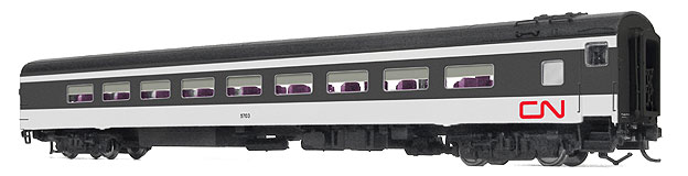N Scale - Rapido Trains - 505057 - Passenger Car, CCF, Dayniter - Canadian National - 5704