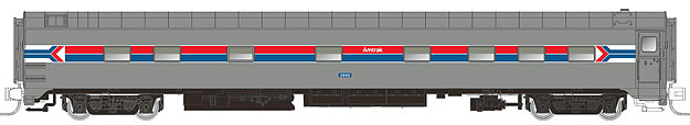 N Scale - Rapido Trains - 504001 - Passenger Car, CCF, 10-5 Sleeper - Amtrak - 2800
