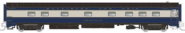 "N Scale - Rapido Trains - 504007 - Passenger Car, CCF, 10-5 Sleeper - Baltimore & Ohio - 7000 ""Cascade Bluff"""