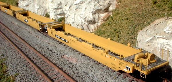N Scale - N Scale Kits - NS020-48 5-car Kit - Container Car, Well - Various