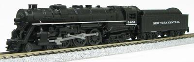 N Scale - Con-Cor - 0001-003006 - Locomotive, Steam, 4-6-4 Hudson - New York Central