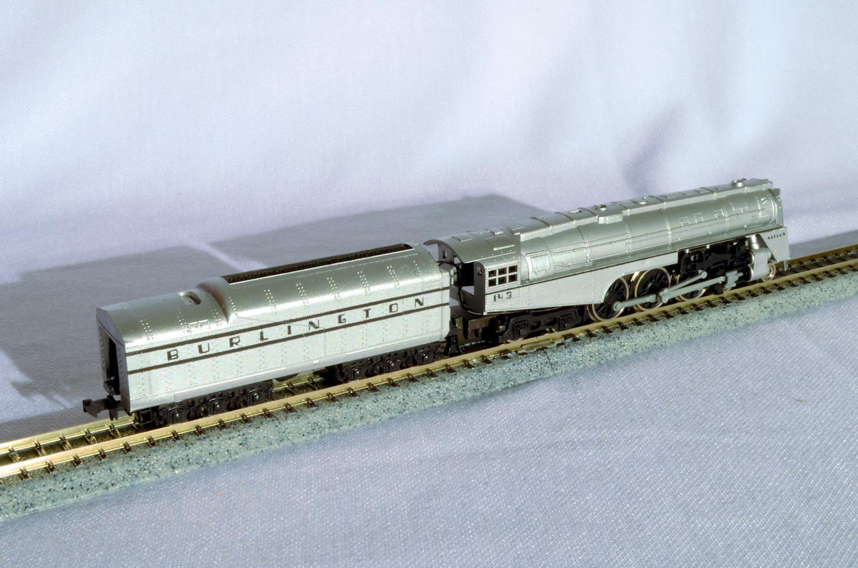 N Scale - Con-Cor - 0001-003082 - Locomotive, Steam, 4-6-4 Hudson - Burlington Route