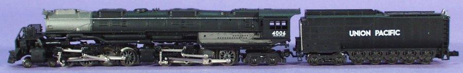 N Scale - Minitrain - 5513005 - Locomotive, Steam, 4-8-8-4 Big Boy - Union Pacific - 4006