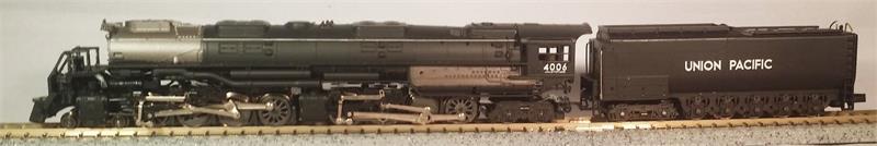 N Scale - Con-Cor - 0001-003606 - Locomotive, Steam, 4-8-8-4 Big Boy - Union Pacific - 4006