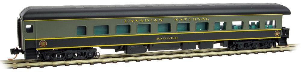 N Scale - Micro-Trains - 144 00 715 - Passenger Car, Heavyweight, Pullman, Observation - Canadian National - Bonaventure
