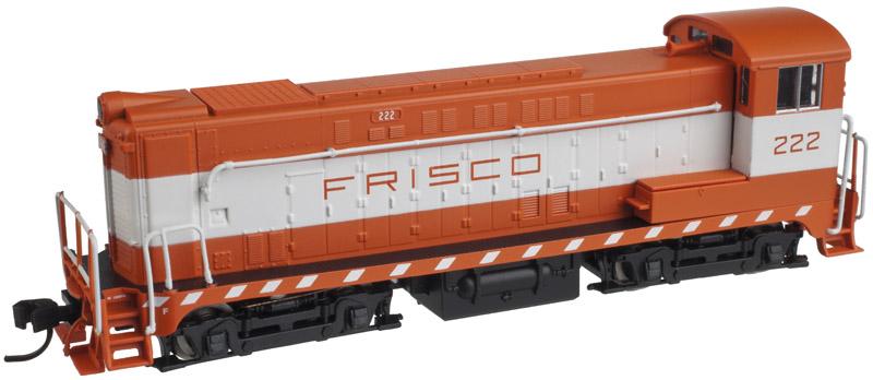 N Scale - Atlas - 40 000 557 - Locomotive, Diesel, Baldwin VO-1000 - Frisco - 222