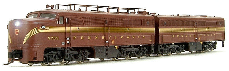N Scale - Broadway Limited - 3381 - Locomotive, Diesel, Alco PA/PB - Pennsylvania - 5752A, 5758B