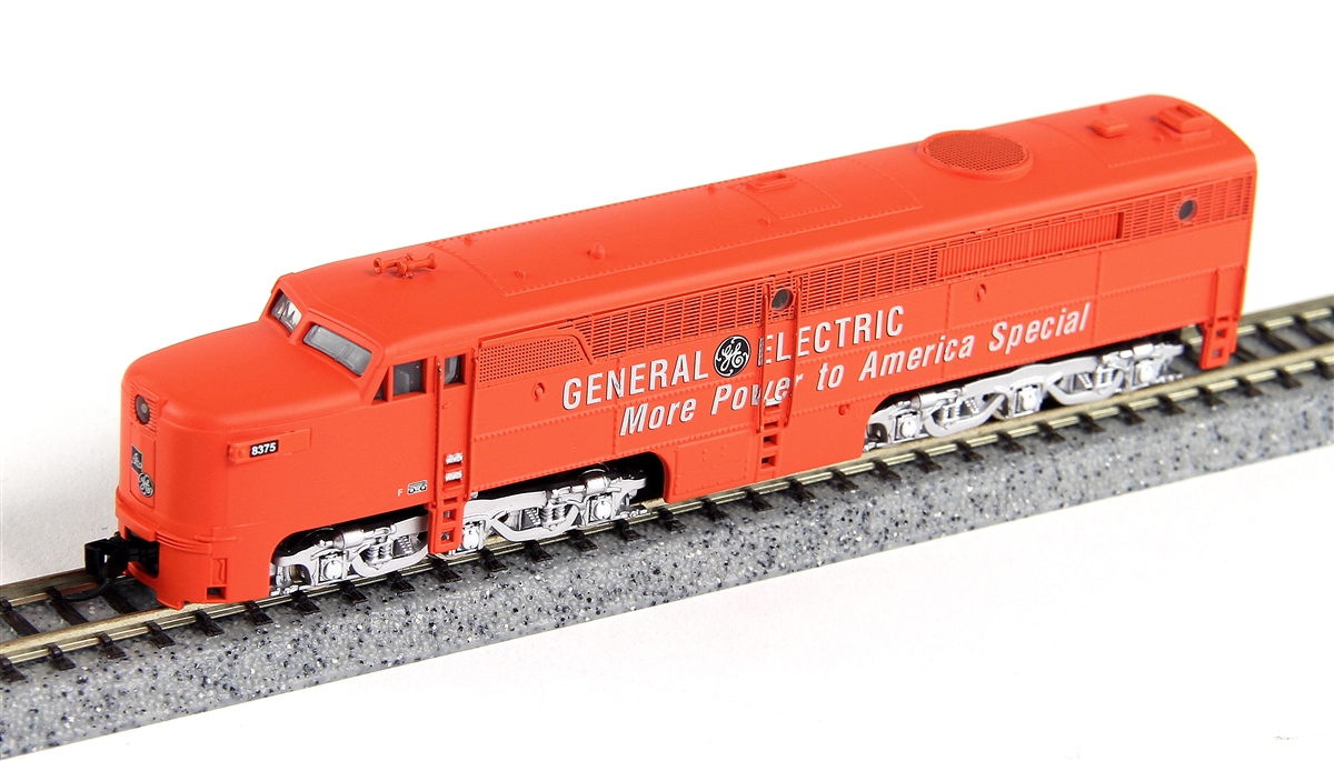 N Scale - Broadway Limited - 3387 - Locomotive, Diesel, Alco PA/PB - General Electric Transportation - 8375A