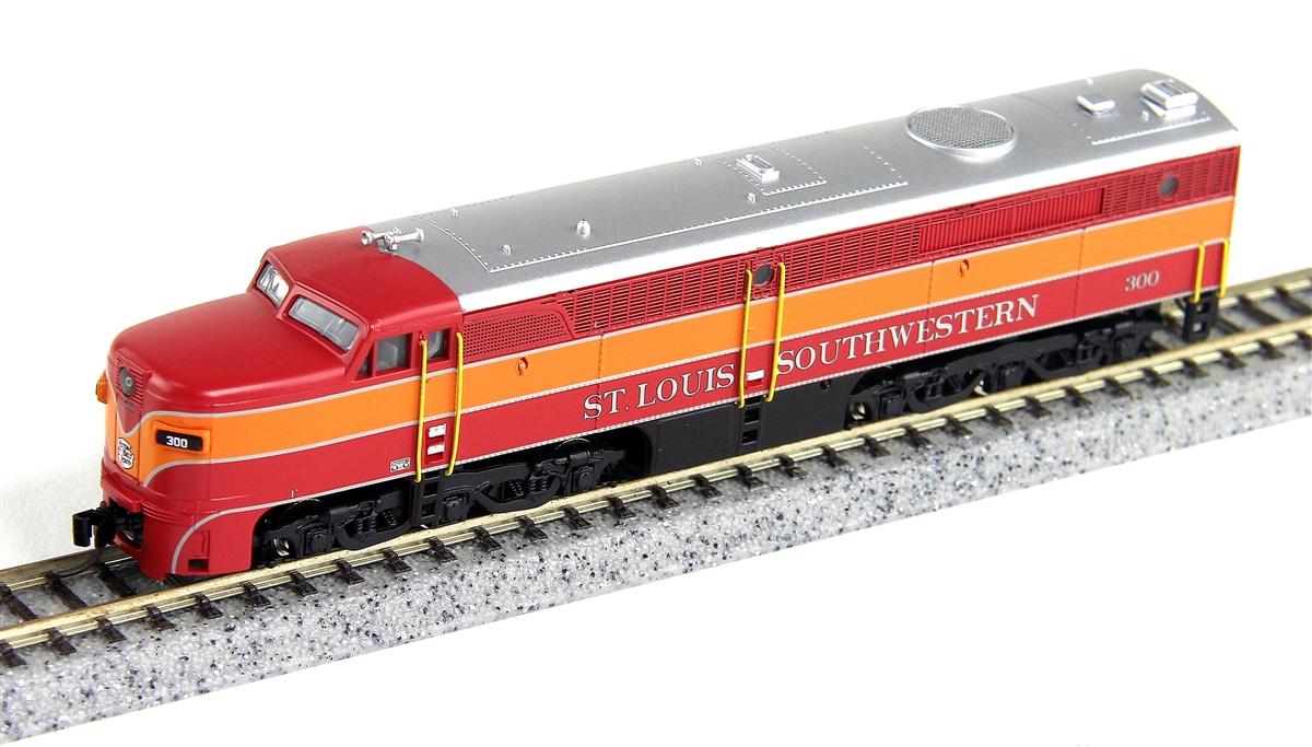 N Scale - Broadway Limited - 3396 - Locomotive, Diesel, Alco PA/PB - Cotton Belt - 301