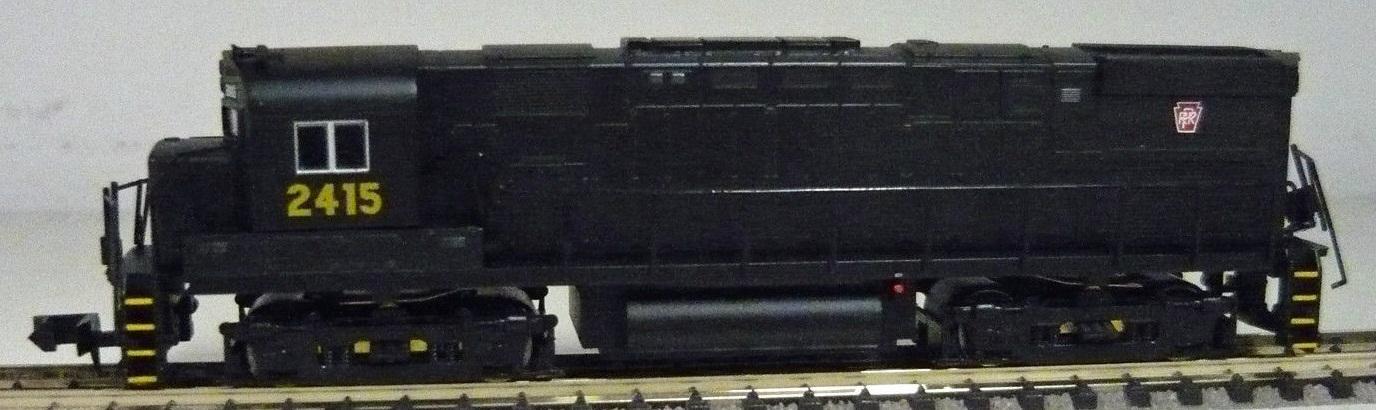 N Scale - Life-Like - 7660 - Locomotive, Diesel, Alco C-424 - Pennsylvania - 2415