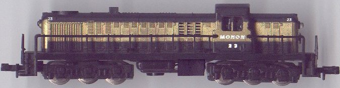 N Scale - Atlas - 2152 - Locomotive, Diesel, Alco RSC-2 - Monon - 23