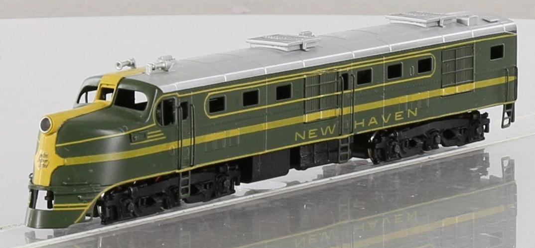 N Scale - Hallmark Models - NS0166 - Locomotive, Diesel, Alco DL-109 - New Haven