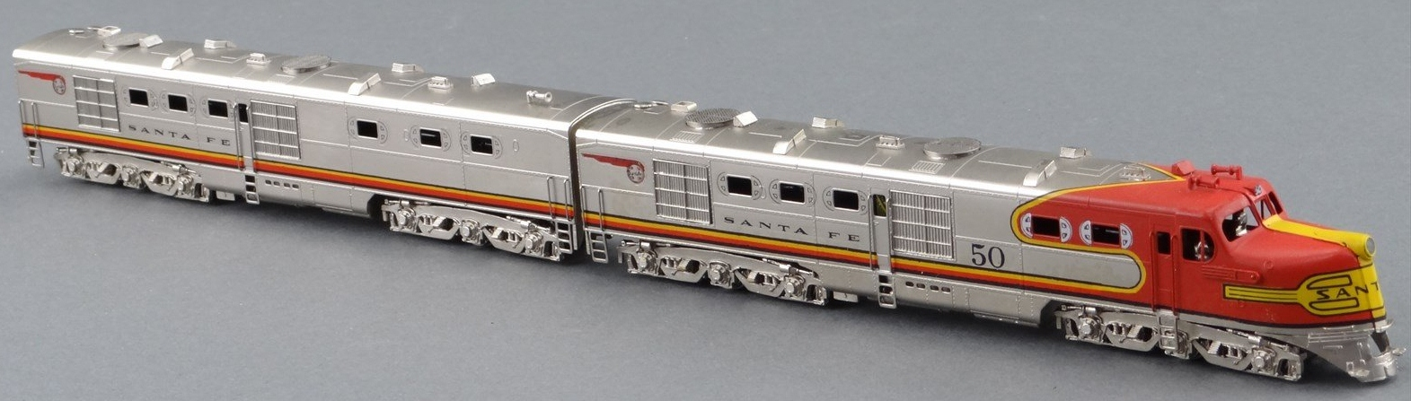 N Scale - Hallmark Models - NS0002 - Locomotive, Diesel, Alco DL-109 - Santa Fe - 50