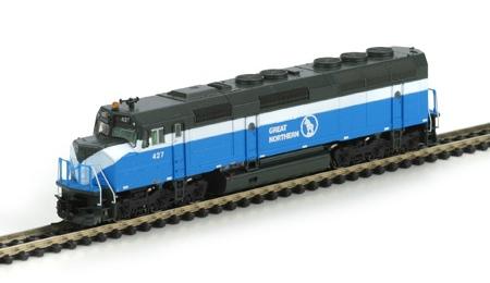 N Scale - Athearn - 16805 - Locomotive, Diesel, EMD F45 - Great Northern - 427