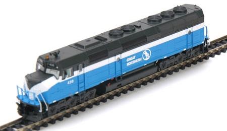 N Scale - Athearn - 16807 - Locomotive, Diesel, EMD F45 - Great Northern - 439