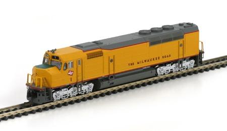 N Scale - Athearn - 16813 - Locomotive, Diesel, EMD FP45 - Milwaukee Road - 1