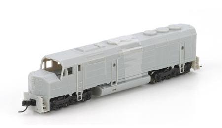 N Scale - Athearn - 16816 - Locomotive, Diesel, EMD F45 - Burlington Northern - Undec