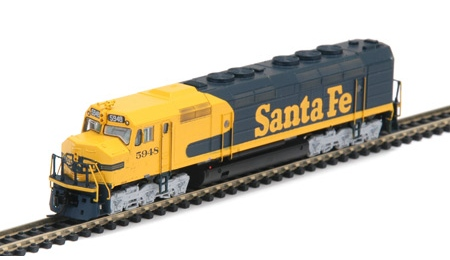 N Scale - Athearn - 16827 - Locomotive, Diesel, EMD FP45 - Santa Fe - 5948