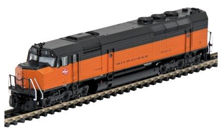 N Scale - Athearn - 16829 - Locomotive, Diesel, EMD FP45 - Milwaukee Road - 3