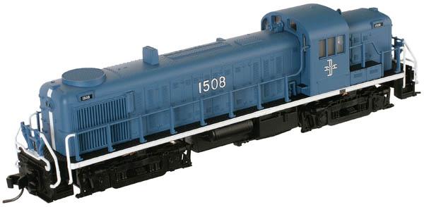 N Scale - Atlas - 42080 - Locomotive, Diesel, Alco RS-3 - Boston & Maine - 1508