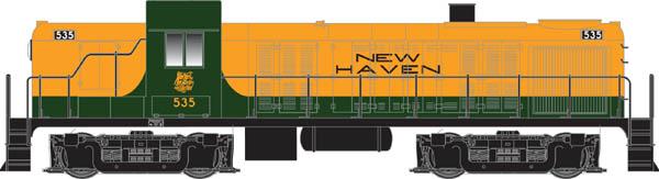 N Scale - Atlas - 420103 - Locomotive, Diesel, Alco RS-3 - New Haven - 5311