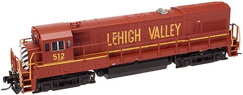 N Scale - Atlas - 45917 - Locomotive, Diesel, GE U23B - Lehigh Valley - 510