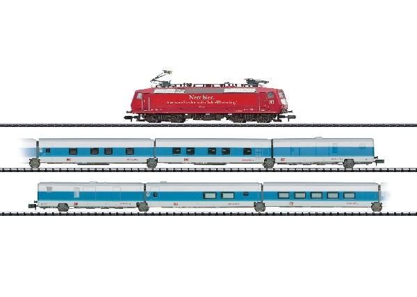 N Scale - Minitrix - 11636 - Passenger Train, Electric, Europe, Epoch V - Deutsche Bahn