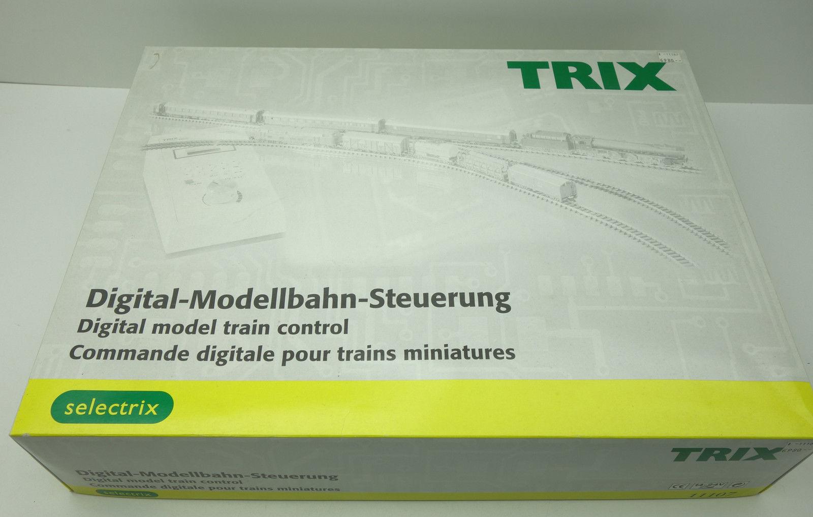 N Scale - Minitrix - 11107 - Double Engine Selectrix Train Set - Deutsche Bahn