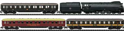 N Scale - Minitrix - 11601 - 4-Unit Passenger Train Set - Deutsche Bahn