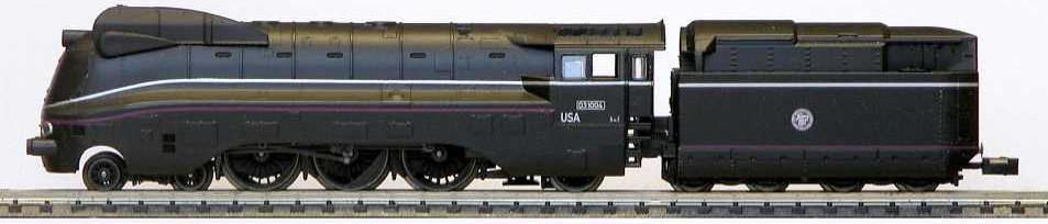 N Scale - Minitrix - 11601a - Locomotive, Steam, 4-6-2 BR 03 - United States Army - 02 1004