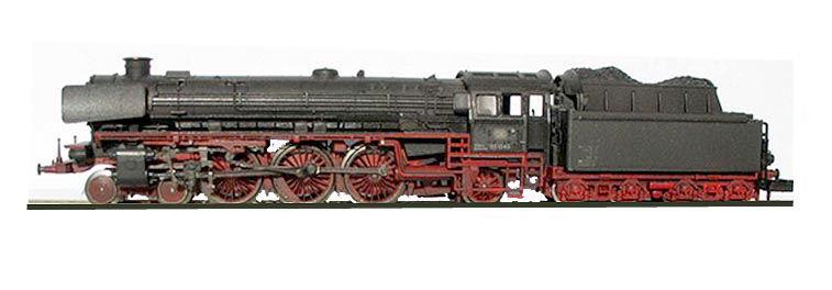N Scale - Minitrix - 12431 - Locomotive, Steam, 4-6-2 BR 03 - Deutsche Bahn - 03 1045