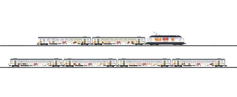 N Scale - Minitrix - 11304 - Passenger Train, Electric, Europe, Epoch V