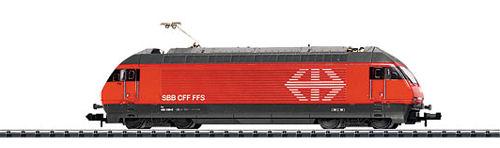 N Scale - Minitrix - 12167 - Electric Locomotive, Re 4/4 IV - SBB CFF FFS - 460 030-0