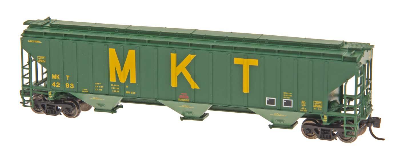 N Scale - InterMountain - 65352-14 - Covered Hopper, 3-Bay, Thrall 4750 - Missouri-Kansas-Texas - 4226