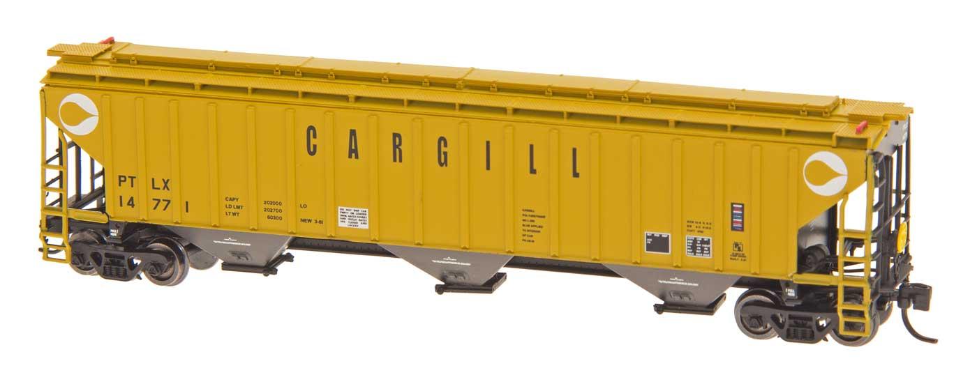 N Scale - InterMountain - 65376-15 - Covered Hopper, 3-Bay, Thrall 4750 - Cargill - 14902