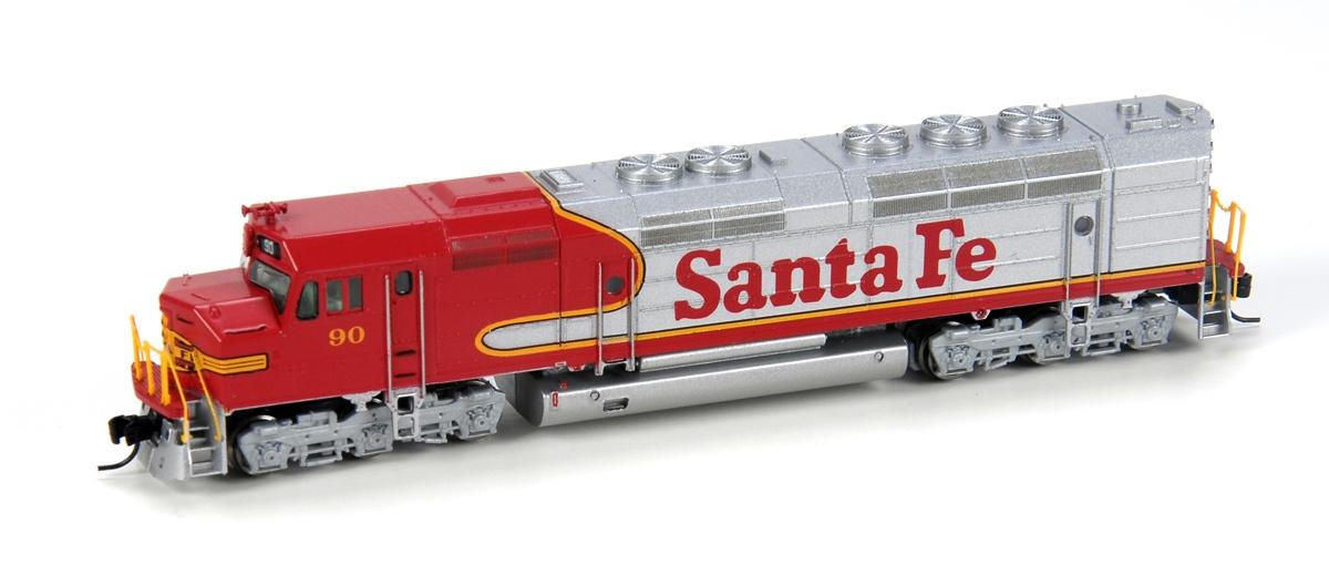N Scale - Athearn - 22308 - Locomotive, Diesel, EMD FP45 - Santa Fe - 90