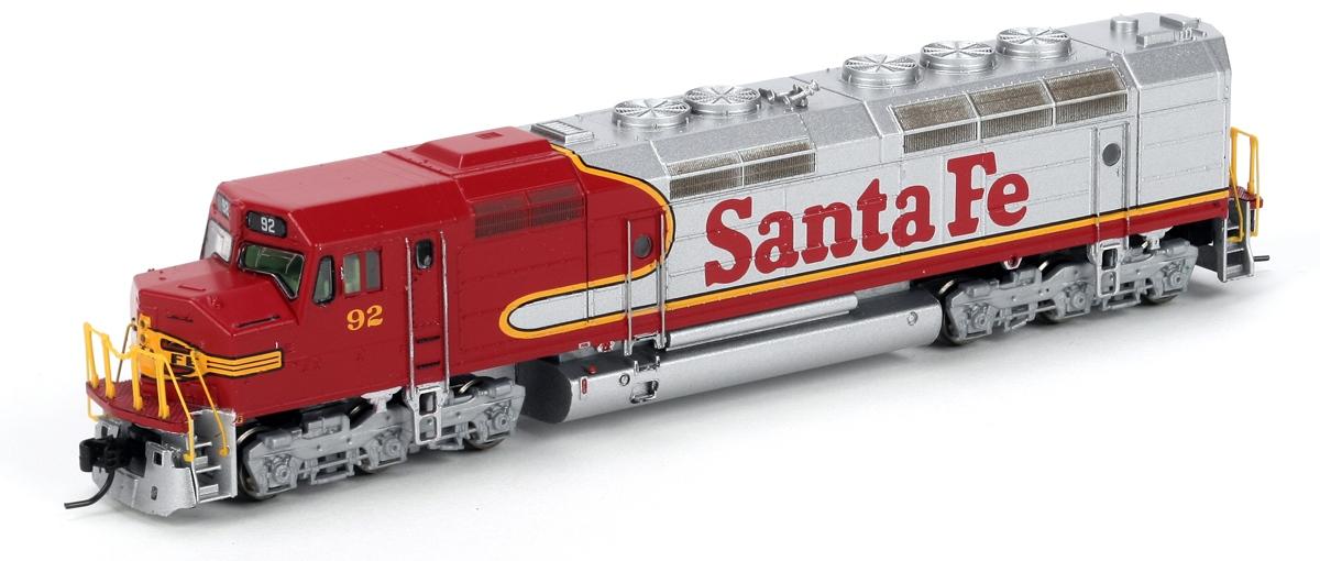 N Scale - Athearn - 22309 - Locomotive, Diesel, EMD FP45 - Santa Fe - 92