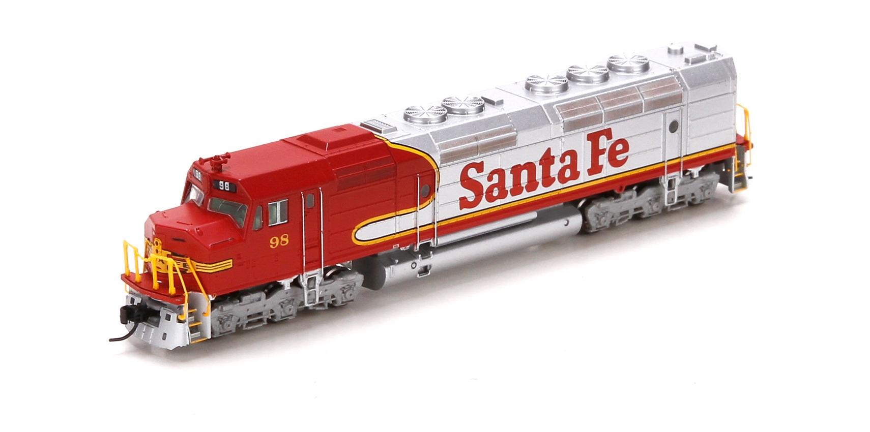N Scale - Athearn - 22440 - Locomotive, Diesel, EMD FP45 - Santa Fe - 98