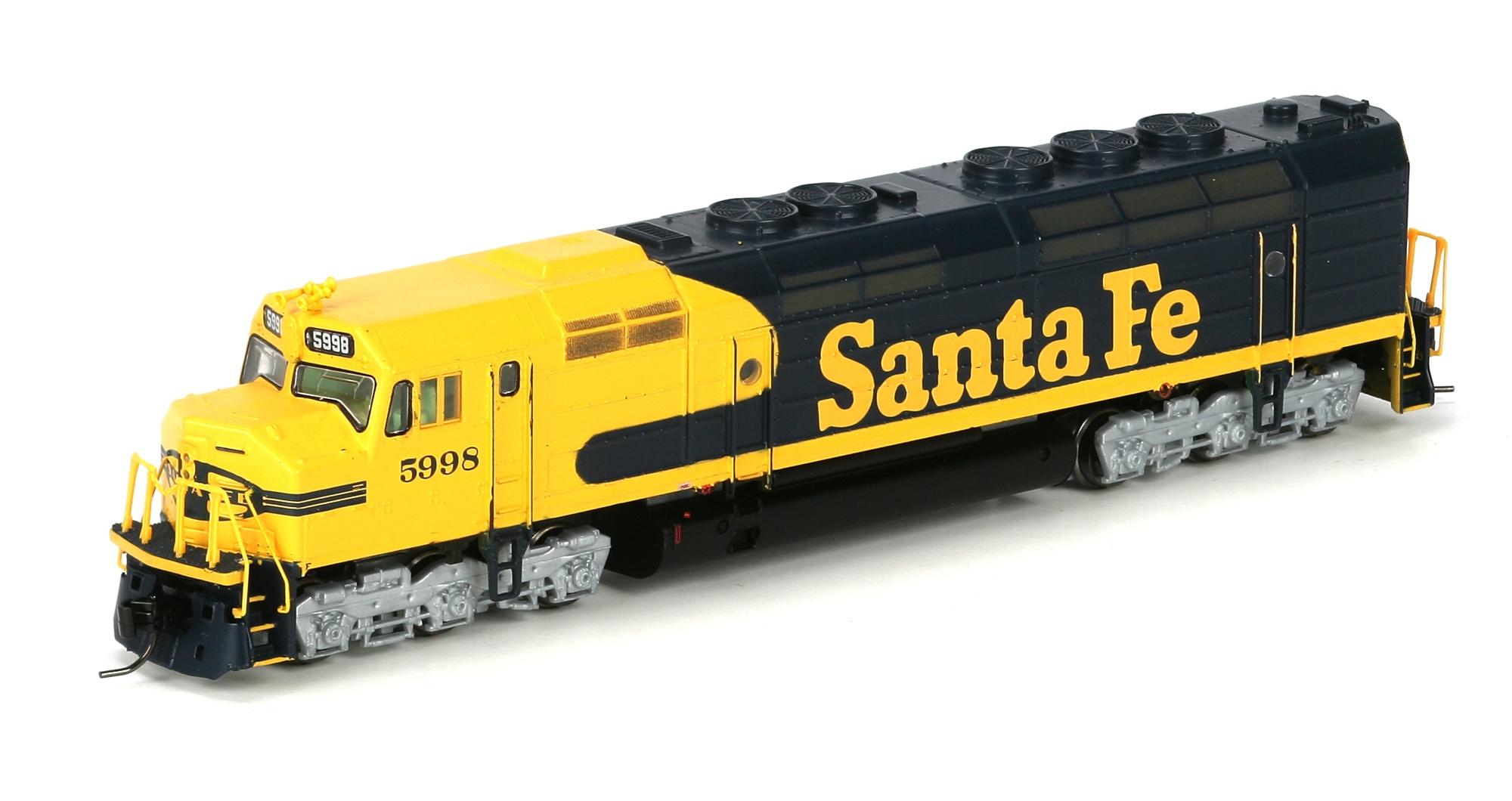 N Scale - Athearn - 22423 - Locomotive, Diesel, EMD FP45 - Santa Fe - 5998