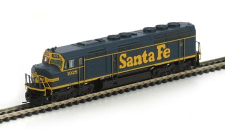 N Scale - Athearn - 16851 - Locomotive, Diesel, EMD F45 - Santa Fe - 1928